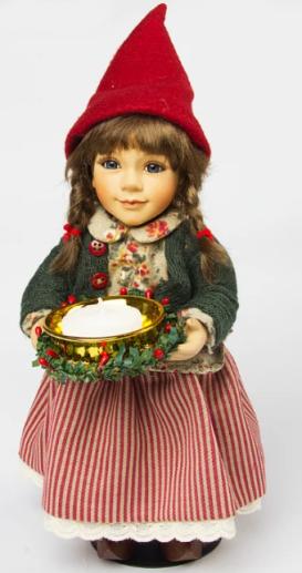 The Birgitte Frigast porcelain doll