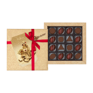 "16 greetings Gift pack: chocolate, marmalade, chocolate candy ""Assorted"" 160g"