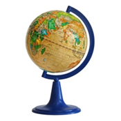 "Earth globe political relief ""Retro-Alexander"""