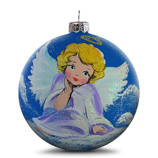 Christmas ball angel