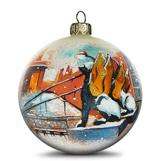 Christmas ball Lions