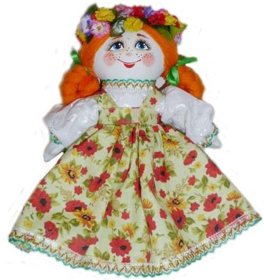 "Gift workshop / Textile doll ""Ksyusha"""