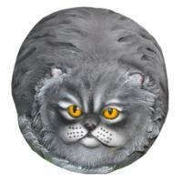 "Remeko / Decorative stone ""Cat-hippopotamus"", L52 W45 H33cm"