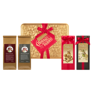 Box 003 Gift set: tea, coffee 400g