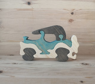 Wooden toy puzzle