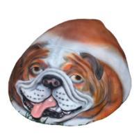 """Remeko / Decorative stone """"English Bulldog"""" 40x52x25cm"""